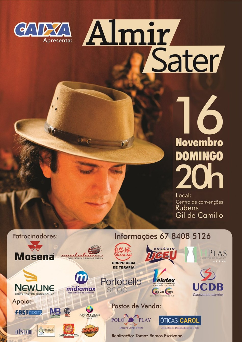 Almir Sater - 16 Nov