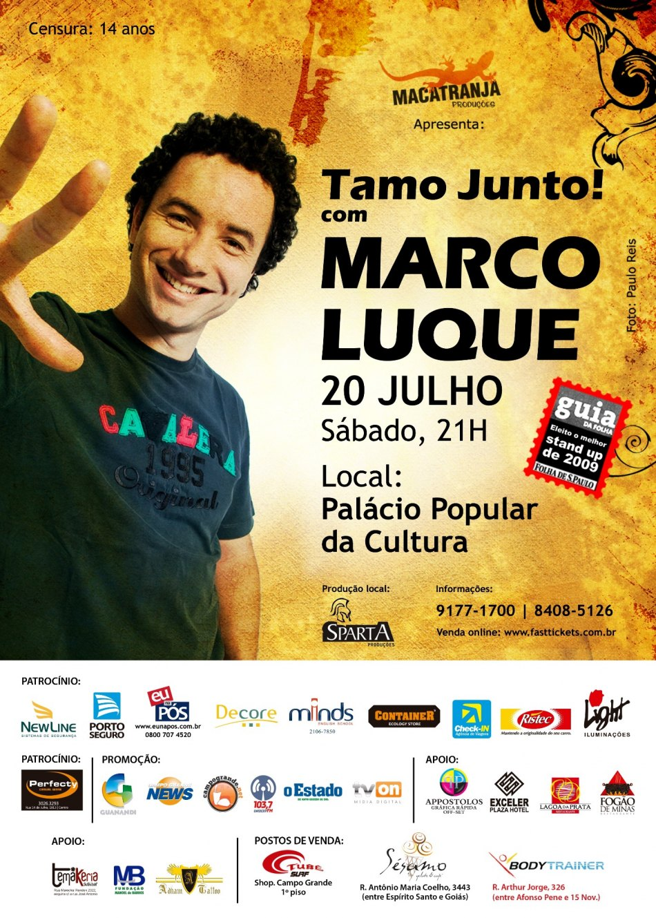 Marco Luque - 20 Julho - Campo Grande