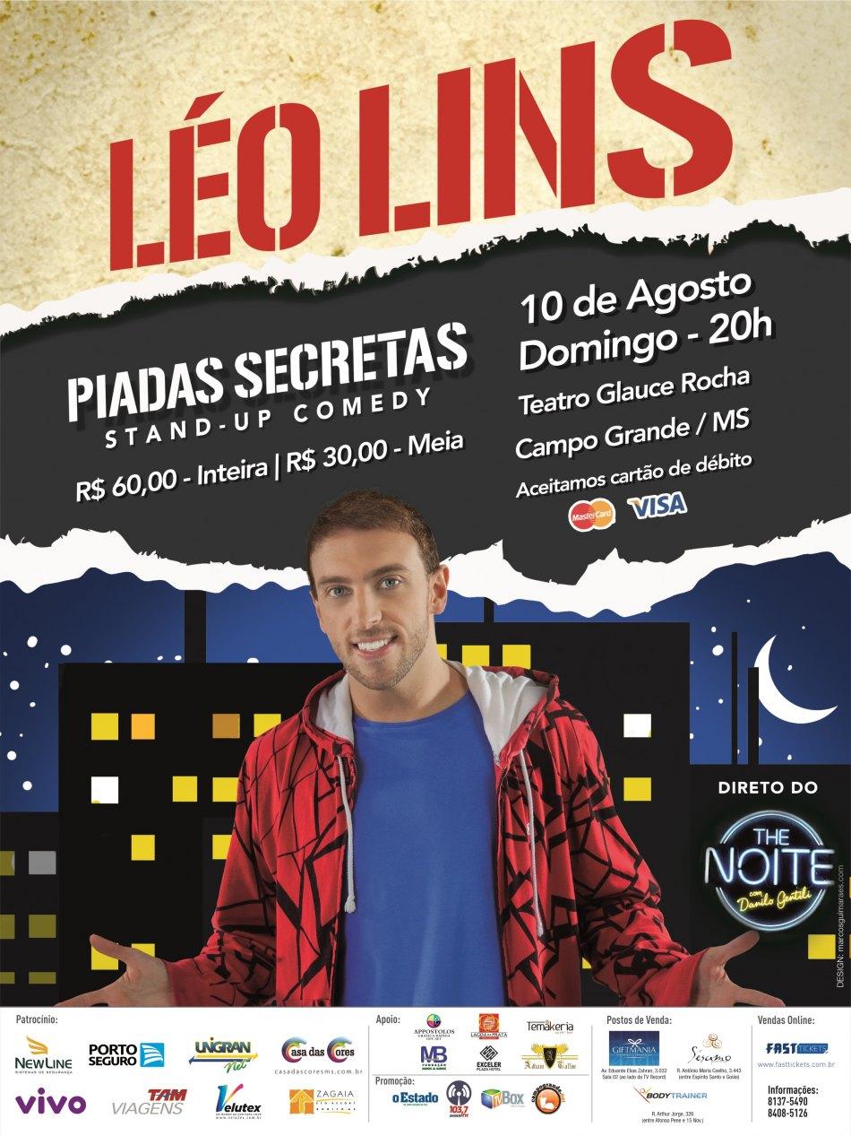 Léo Lins Campo Grande